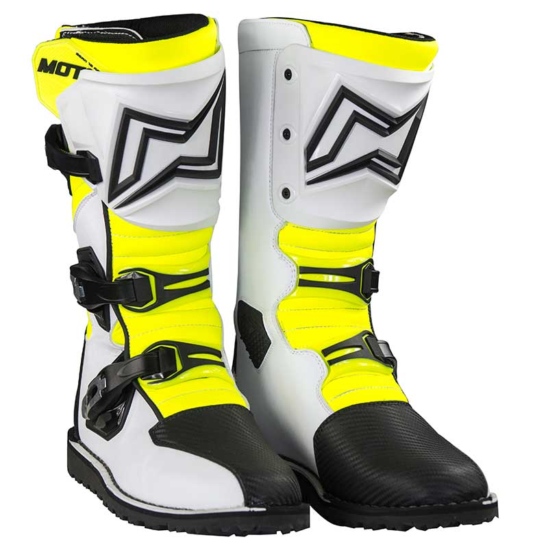 MOTS Zona2 White Trials Boot